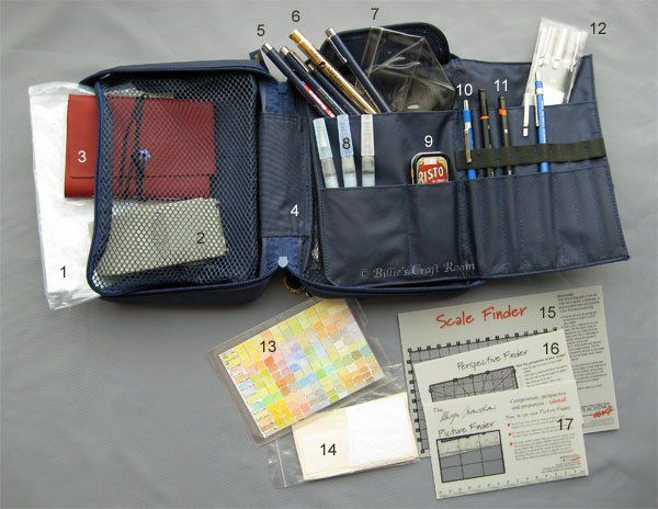 "How to make a travelling kit for sketching & painting ""If all my talk of painting has inspired you to want to try painting, not just at home but on day trips and more, here are some essentials for how to put your own travelling sketching and painting kit together"""