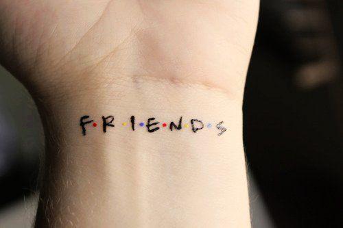 Cute Wrist Quote Tattoos for Girls - Friends Wrist Quote Tattoos for Girls #quote #tattoo www.loveitsomuch.com