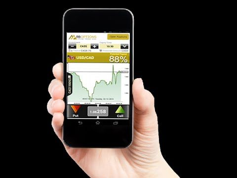 RBoptions Mobile Trading Application and about RBoptions iPhone6 giveaway- YouTube