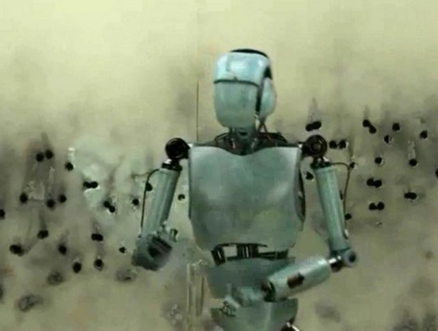 Ed, the robot by Droids Love Casting Agency. FUTURE READY PROTECTION CASTING SESSIONS