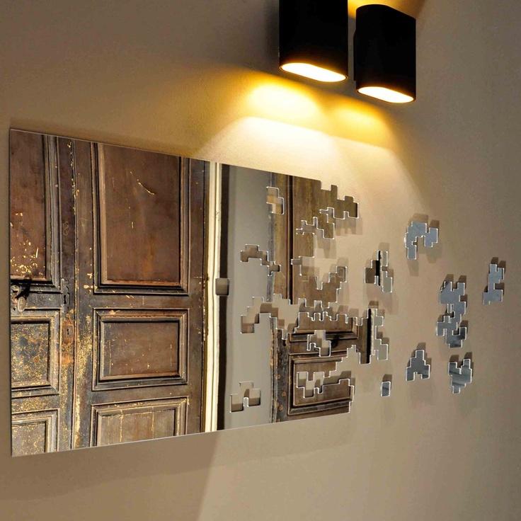 Les 40 meilleures images du tableau miroir design sur for Tableau miroir design
