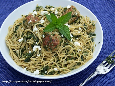 Spaghetti and Meatballs 3. Mexican Style Spaghetti and Meatballs ...