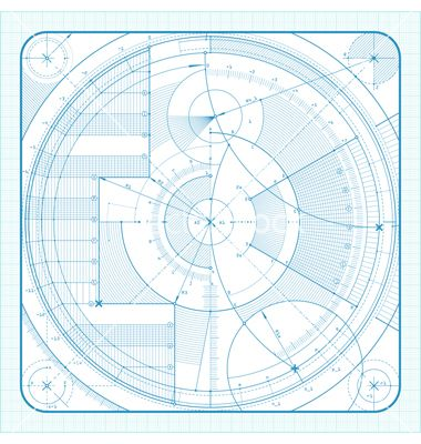 Technical background vector 351212 - by blitzkrieg on VectorStock®