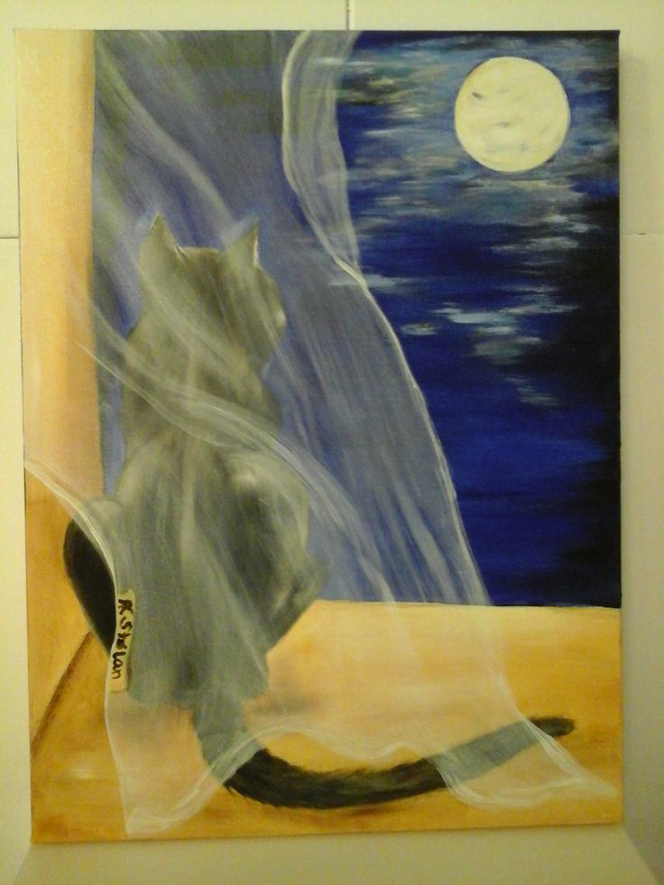 Xenas me time oil on canvas Anne Karin Stølan www.artstolan.com