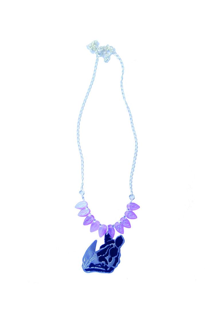 Necklace Rhino - Collar Rhino - Joyería ecosostenible  - www.facebook.com/lecat.accesorios - Instagram: @lecat_jewelry - Colombia.