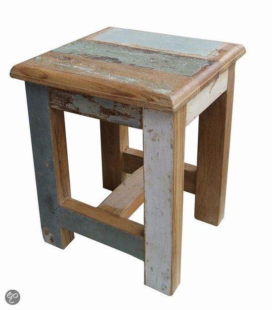 Otentic Design Kruk Kinder krukje Sloophout bol.com