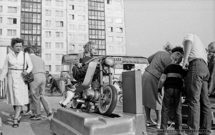 Dzieci też lubią motocykle ;)