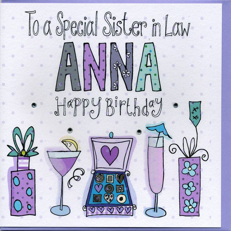 birthday greetings for sister in law Google Search
