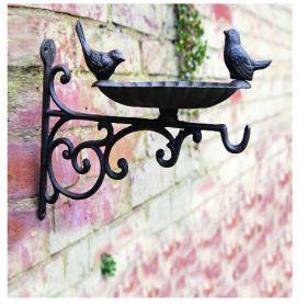 House2Home Antik Döküm Koleksiyon - Kuşlu Duvar Askısı