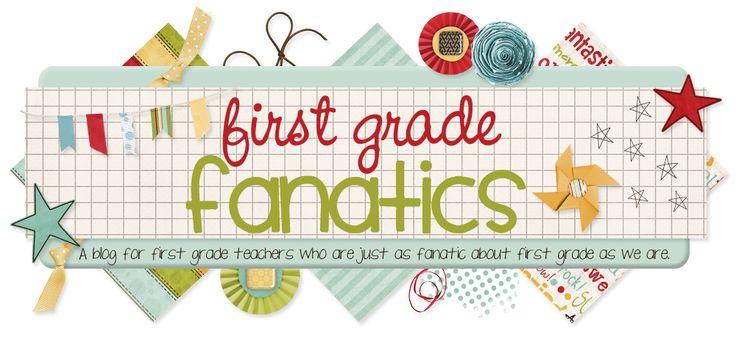 First Grade FanaticsGrade Fanatic, Firstgrade, First Grade Activities, Grade Blog, Teaching Blog, 1St Grades, Writing Notebook, Fanatic Blog, Back To Schools First Grade
