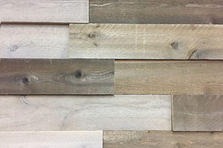 Boréalix innove une fois de plus avec le revêtement mural intérieur 3D. L'imitation de bois de grange est fait à partir cèdre de l'est du Québec.