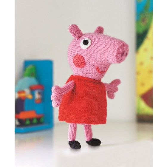 George Pig Knitting Pattern Jumper : 28 best images about Christmas with Peppa! on Pinterest Toys, Knitting patt...