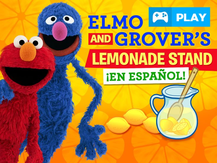 PLAY Elmo and Grover's Lemonade Stand game