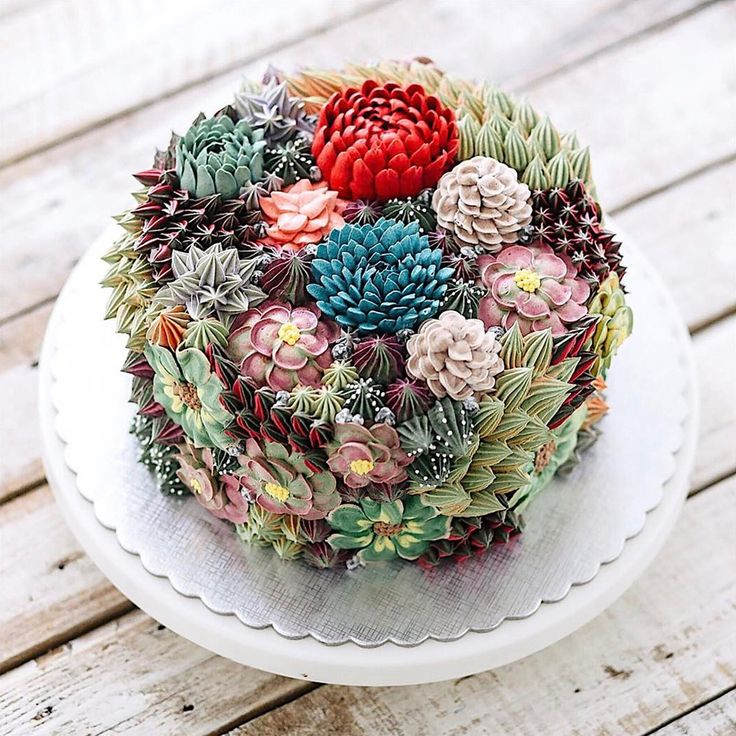 Amazing Terrarium and Flower Cakes Created by Iven Kawi   Colossal