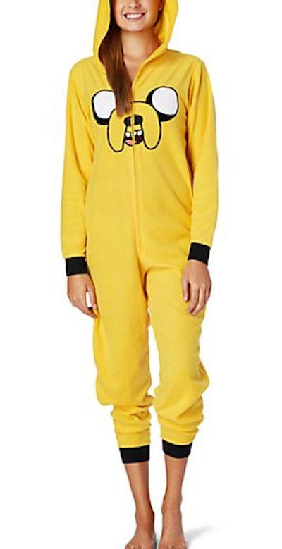 Adventure Time Jake Hooded Fleece Onesie