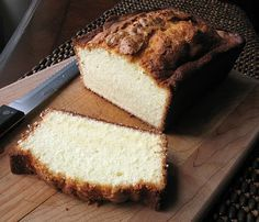 Elvis Presley's Whipping Cream Pound Cake - This is the best pound cake we have ever tasted. Its tender appeal is owed in part to cake flour and cream, and in part to beating the batter an extra 5 minutes.