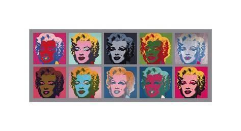 Ti Marilyn-er, ca. 1967 Giclee-trykk av Andy Warhol hos AllPosters.no