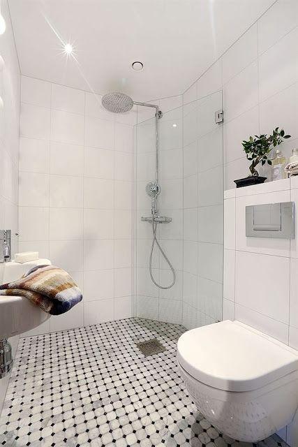 tips för lilla badrummet