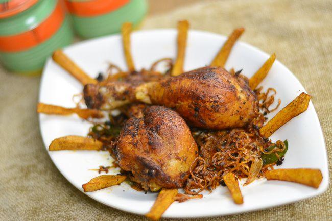 Kerala Chicken Fry