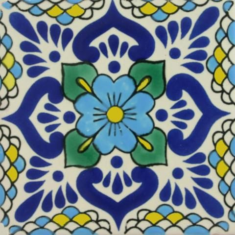 Decorative Picture Tiles Endearing 81 Best Decorative Pool Tiles Images On Pinterest  Mexican Tiles Decorating Design