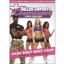 Dallas Cowboys Cheerleaders: Power Squad Bod! - Hard Body Boot Camp. yet another cheesy looking yet amazing workout