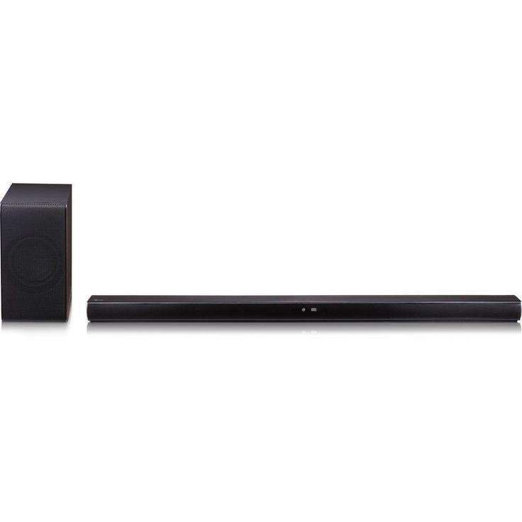 NOB LG Music Flow Sound Bar Speaker - Placement: Table Mountable, Wall Mountable - Wireless Speaker(s) - Black - DTS Digital Surround, Dolby Digital - Wireless LAN - Bluetooth - USB - HDMI, Remote,