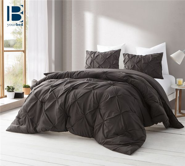 Make the best of your #Bedroom_Decor and #Bedding with the Byourbed Demitasse Brown Pin Tuck Comforter. #Netural_Bedding makes for the best #Decor for years to come. #Brown_Comforter #Brown_Bedding #Neutral_Comforter #Dark_Brown_Comforter #BYB #Byourbed #Pin_Tuck_Design #Dark_Brown_Decor #Bedroom_Shopping #Best_Bedding #Comfiest_Comforter