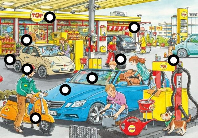 Praatplaat: het tankstation by Lisanne