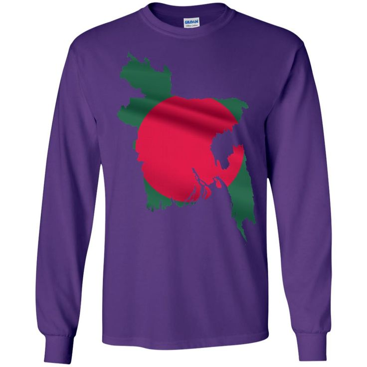 Bangladesh flag-01 LS Ultra Cotton Tshirt