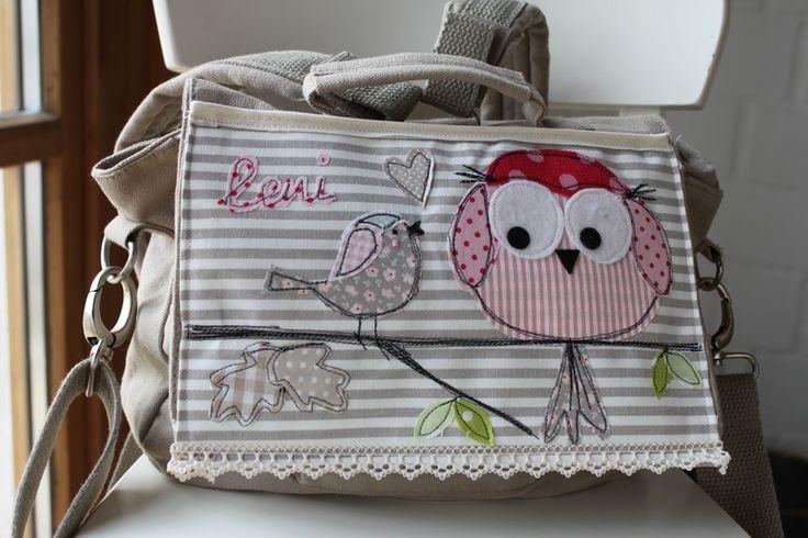 "Kindergartenrucksack+""Eulalia""+NEUE+Kollketion!+von+Milla+Louise+auf+DaWanda.com"