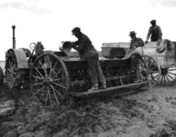 Agricultural Revolution Timeline