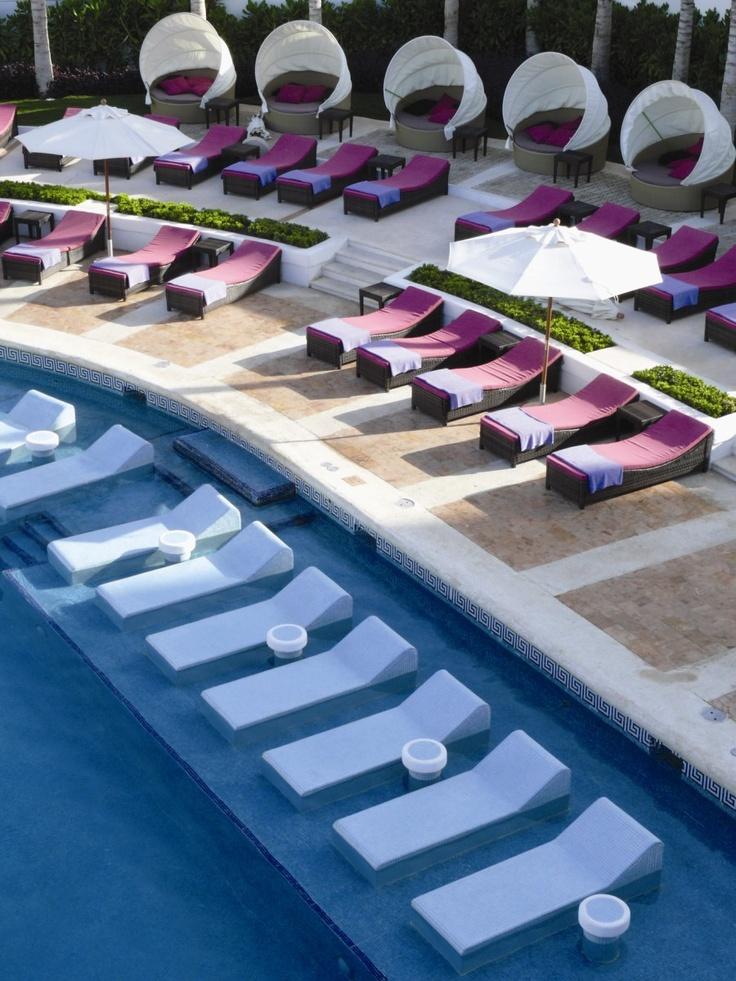 Hyatt regency cancun pool by gettys design ideas for Mobilia furniture hire