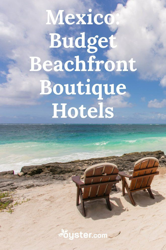 Oyster investigators have pinpointed the very best beachfront boutique hotels in Mexico that won't break the bank. Take a look at our list of budget beach boutiques, from Mexico's Caribbean shoreline in the east (Tulum, Playa del Carmen, Cozumel, Akumal, Isla Mujeres) to its Pacific coast in the west (Puerto Vallarta, Yelapa, San Pancho). The hotel rates that we've included for each pick are the average price range for a standard room.