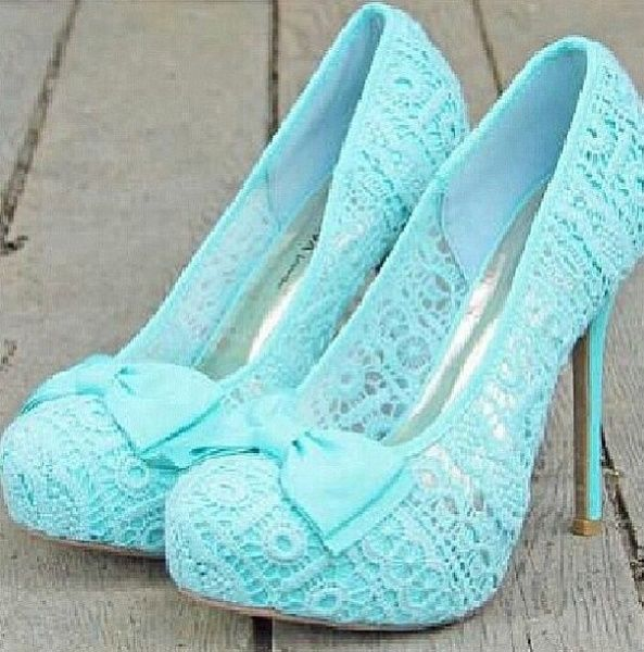 If these were white they would be perfect for a bride at her wedding