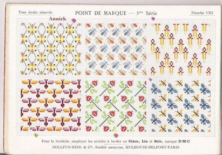 Ancien Dmc - Point de Marque - 5eme Série - Albums d'antan