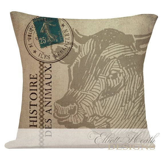 1000+ images about Farm Country Pillows on Pinterest Vintage safari, Vintage and French