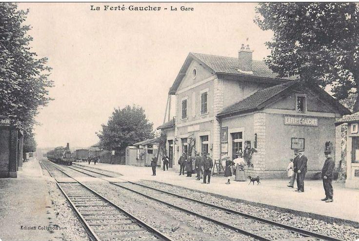 Mon Tour de France 1959 : la suite: Voyage en train... La ligne La Ferté Gaucher - Sézanne
