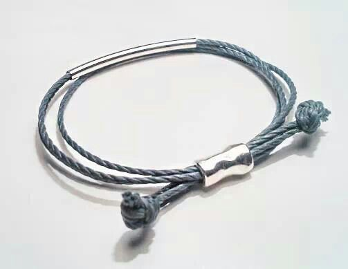 Silver Kaia Bracelet..  Beautiful piece Handmade by VALQUÍRIA
