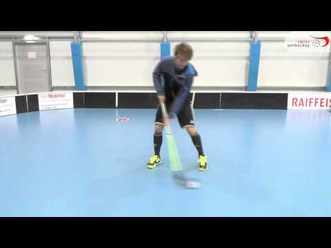 Floorball Tricks 1vs1 - YouTube