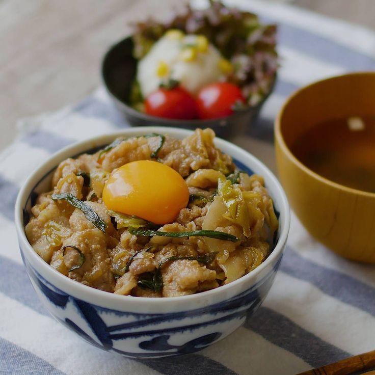 【下味冷凍】ガツンとうまい!ダブルねぎのスタミナ豚丼 - macaroni