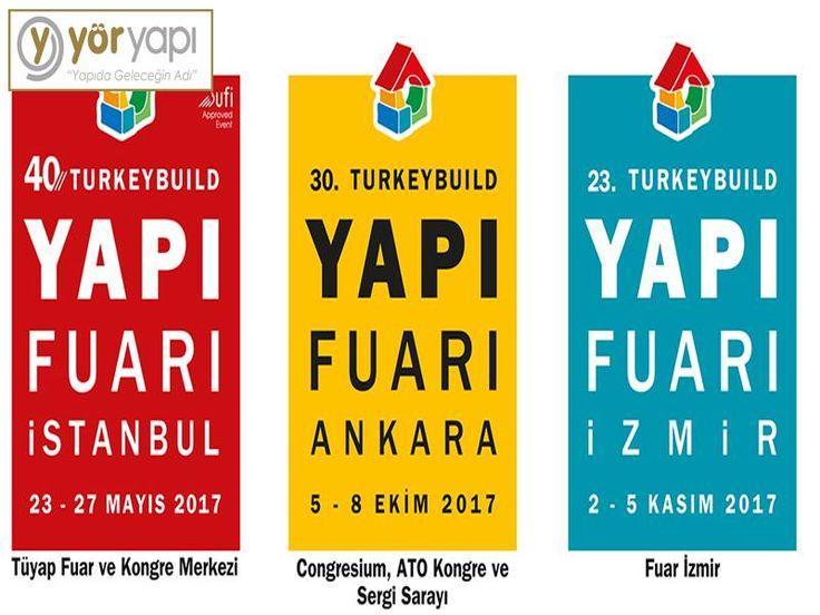 #Turkeybuildİstanbul2017 40. Yapı Fuarı Konu: Altyapı,Tesisat, Elektrik-Elektronik, Bina Donanımı, Mutfak-Banyo, Çevre Düzenleme, 23~27 Mayıs 201'de Tuyap IST'da! #YörYapı #YörPalas #Yörsan #YörGroup http://www.yoryapi.com.tr/