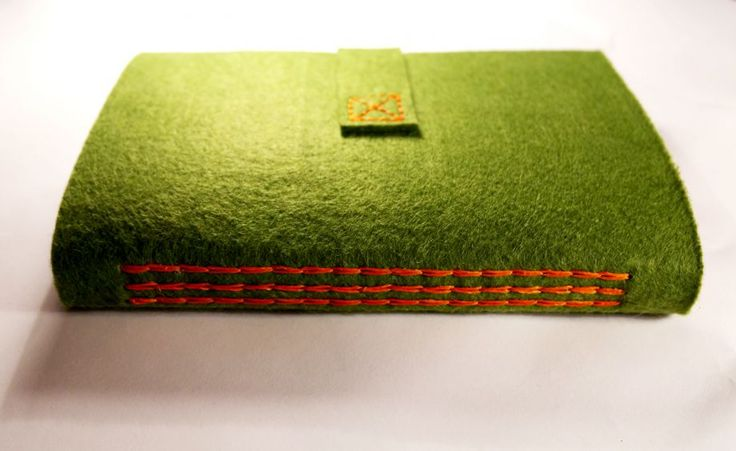 Yeşil keçe defter