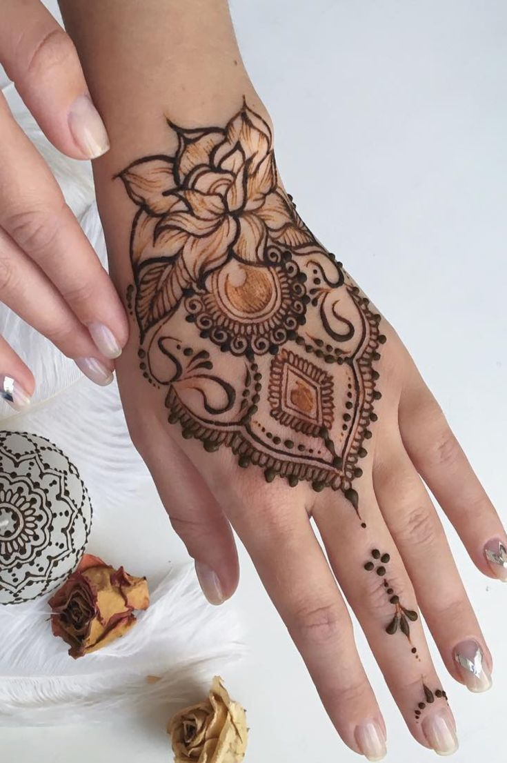 32 Free Henna Tattoo Design You Can Do Best Henna Drawings At Home New 2019 Page 4 Of 32 Eeasyknitting Com Henna Tattoo Designs Henna Designs Easy Henna Tattoo
