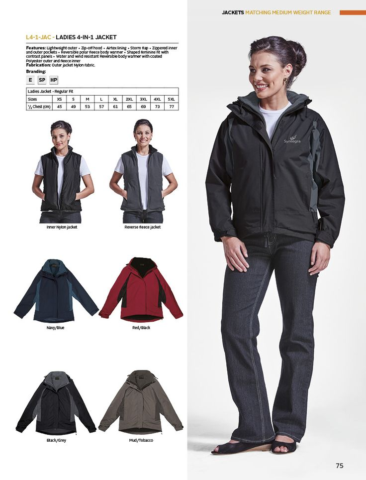 Ladies 4-in-1 Jacket | belleregaloshop