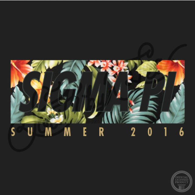 Sigma Pi | Hawaiian T-Shirt Design | Summer T-Shirt Design | South by Sea…