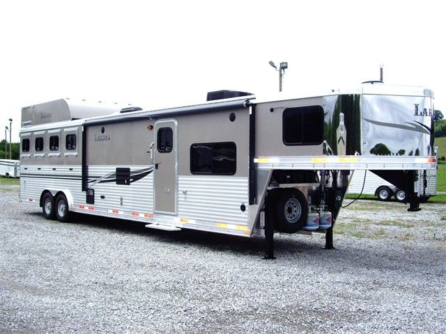 horse trailers kiefer built horse trailers living quarters living