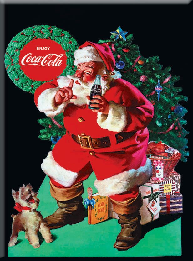 "Just so everyone knows - this is what the ""real Santa"" looks like! :)"