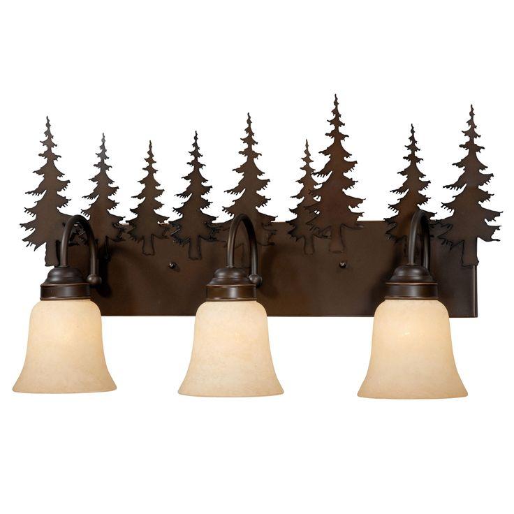 Pine Cone Vanity Light Fixture