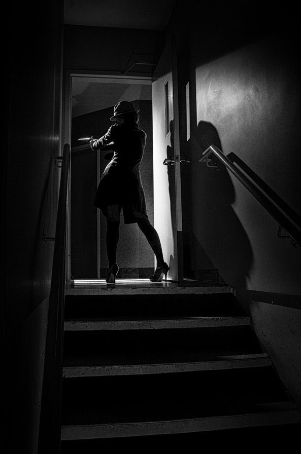 Betrayal in Showcase of Film Noir Photography