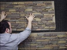 Site to purchase faux rock, brick or wood interior/exterior paneling, plust full instructions for installing it (think: columns, arches, etc!)